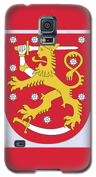 Finland Coat Of Arms Galaxy S5 Case by Movie Poster Prints