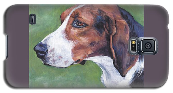 Galaxy S5 Case featuring the painting Finnish Hound by Lee Ann Shepard