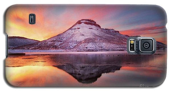 Fire And Ice - Flatiron Reservoir, Loveland Colorado Galaxy S5 Case by Ronda Kimbrow