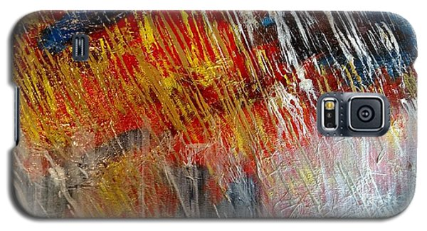 Fire And Ice Galaxy S5 Case by Lori Jacobus-Crawford