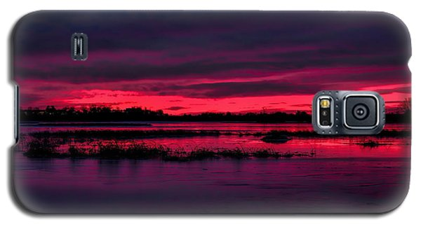 Fire And Ice Sunrise Galaxy S5 Case