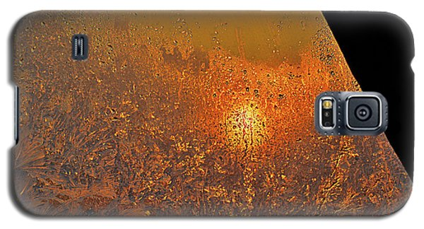 Galaxy S5 Case featuring the photograph Fire And Ice by Susan Capuano