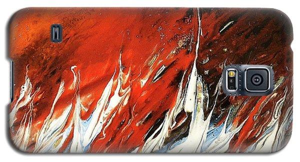 Fire And Lava Galaxy S5 Case