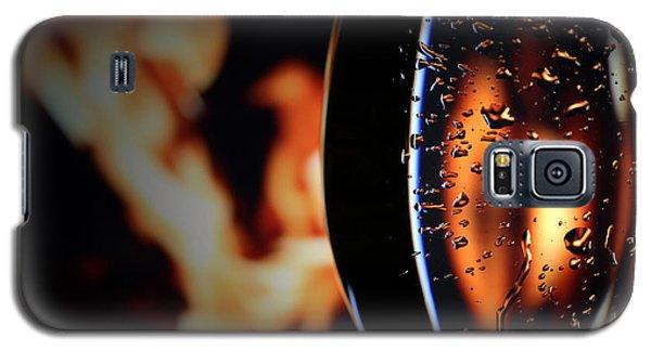 Fire And Rain Galaxy S5 Case