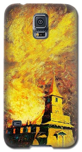 Fire Angel Galaxy S5 Case