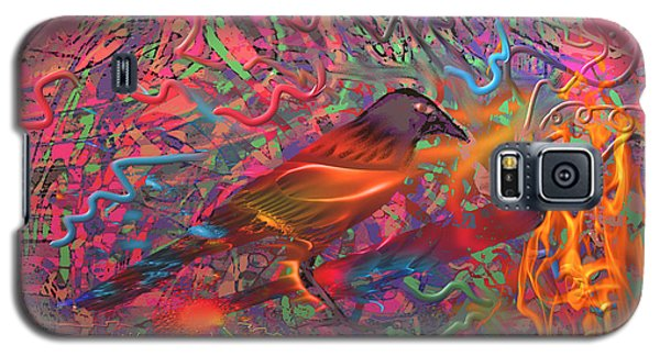 Fire Bird Galaxy S5 Case by Kevin Caudill