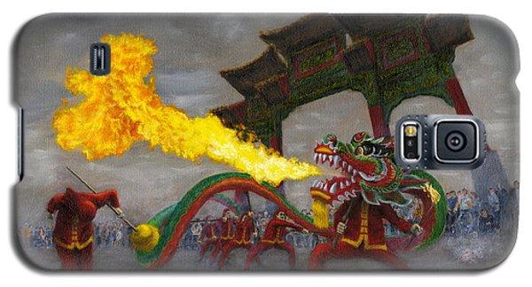 Fire-breathing Dragon Dancer Galaxy S5 Case by Jason Marsh