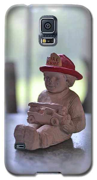Fire Chief Molded Stone Galaxy S5 Case