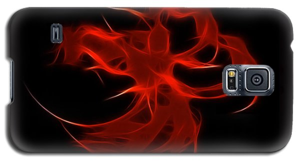 Galaxy S5 Case featuring the digital art Fire Dancer by Holly Ethan