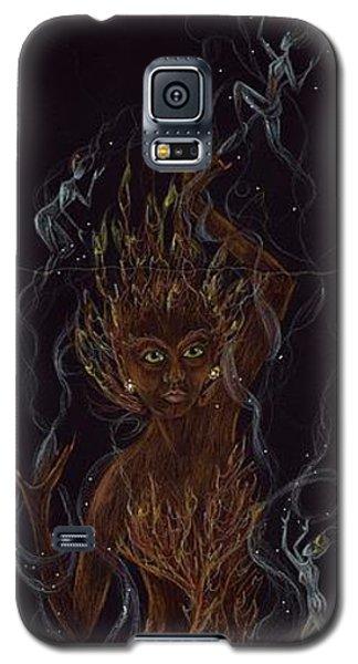 Fire Galaxy S5 Case by Dawn Fairies