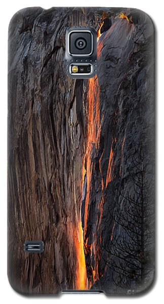 Fire Fall Galaxy S5 Case