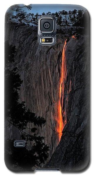 Fire Fall Galaxy S5 Case