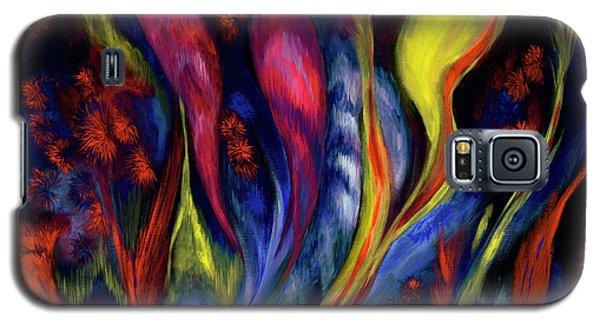 Fire Flowers Galaxy S5 Case