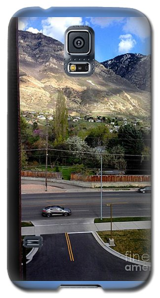 Galaxy S5 Case featuring the photograph Fire Hydrant Guarding The Byu Y by Richard W Linford