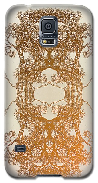 Fire In Me Tree 17 Hybrid 2 Galaxy S5 Case