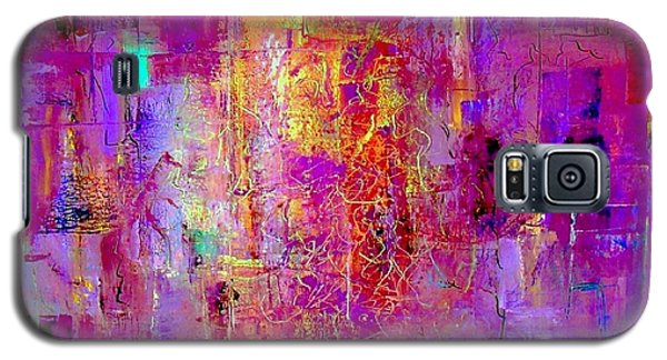 Fire In My Heart Abstract Galaxy S5 Case