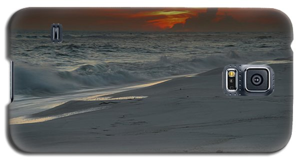 Galaxy S5 Case featuring the photograph Fire In The Horizon by Renee Hardison
