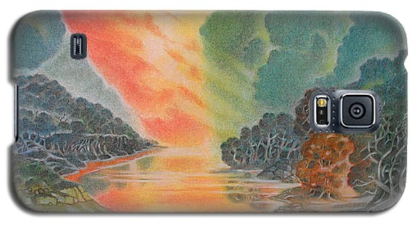 Fire In The Sky 2 Galaxy S5 Case