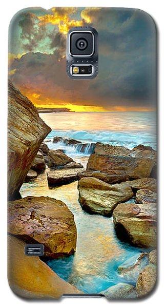Fire In The Sky Galaxy S5 Case by Az Jackson