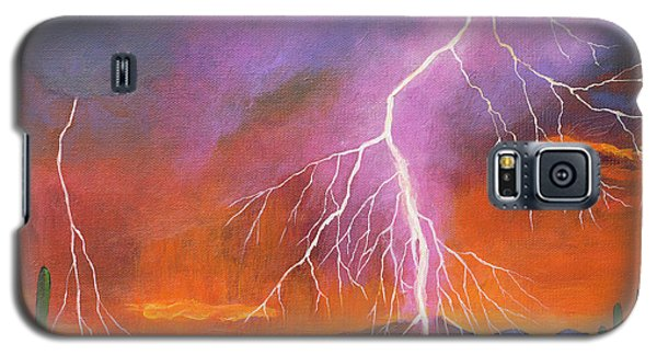 Phoenix Galaxy S5 Case - Fire In The Sky by Johnathan Harris