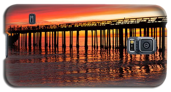 Fire In The Sky Galaxy S5 Case by Lora Lee Chapman
