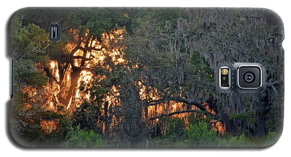 Galaxy S5 Case featuring the photograph Fire Light Jekyll Island 03 by Bruce Gourley