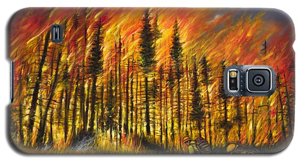 Fire Line 1 Galaxy S5 Case