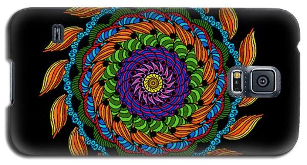 Fire Mandala Galaxy S5 Case