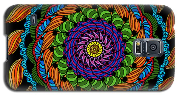 Fire Mandala Galaxy S5 Case