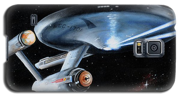 Fire Phasers Galaxy S5 Case