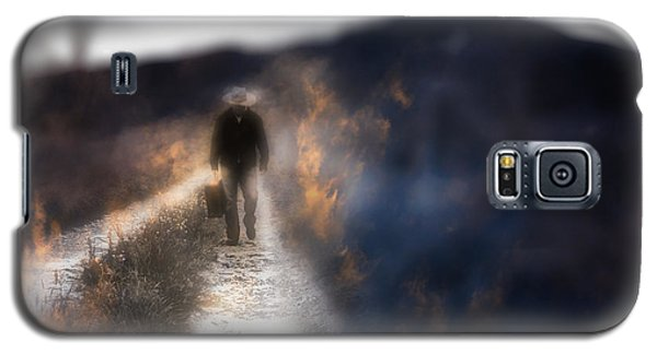 Galaxy S5 Case featuring the photograph Fire Road by Gray  Artus