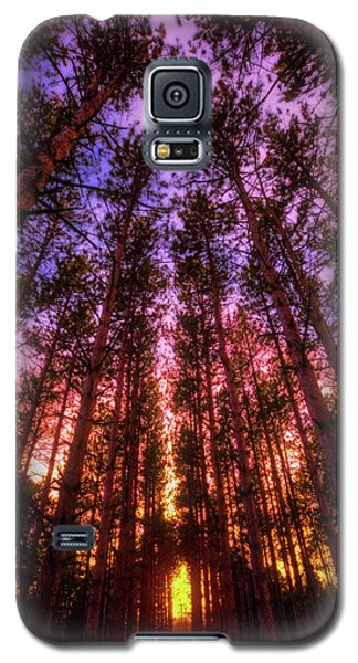 Galaxy S5 Case featuring the photograph Fire Sky - Sunset At Retzer Nature Center - Waukesha Wisconsin by Jennifer Rondinelli Reilly - Fine Art Photography