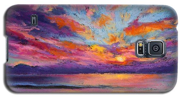 Fire Sky Galaxy S5 Case