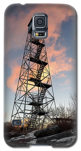 Fire Tower Sky Galaxy S5 Case