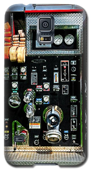 Fire Truck Control Panel Galaxy S5 Case by Dave Mills