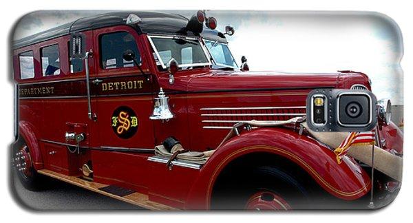 Fire Truck Selfridge Michigan Galaxy S5 Case by LeeAnn McLaneGoetz McLaneGoetzStudioLLCcom