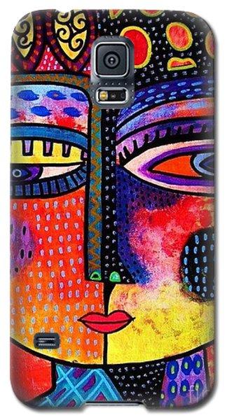 Fire Volcano Goddess Galaxy S5 Case