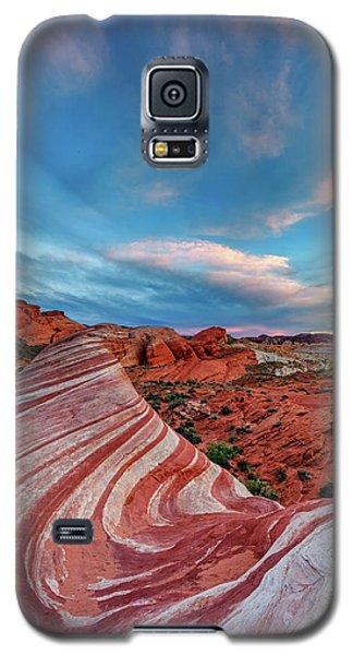 Fire Wave IIi Galaxy S5 Case