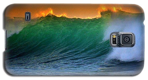 Fire Wave Galaxy S5 Case