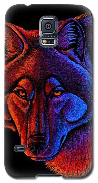 Fire Wolf Galaxy S5 Case