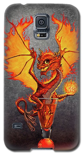 Fireball Dragon Galaxy S5 Case