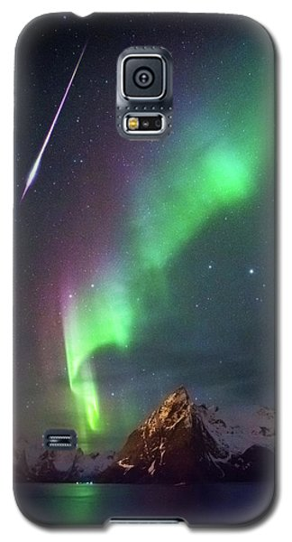 Fireball In The Aurora Galaxy S5 Case