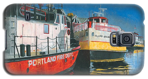 Fireboat And Ferries Galaxy S5 Case