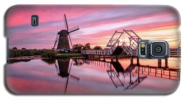 Fired Sky Kinderdijk Galaxy S5 Case