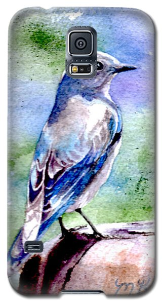Firehole Bridge Bluebird - Female Galaxy S5 Case