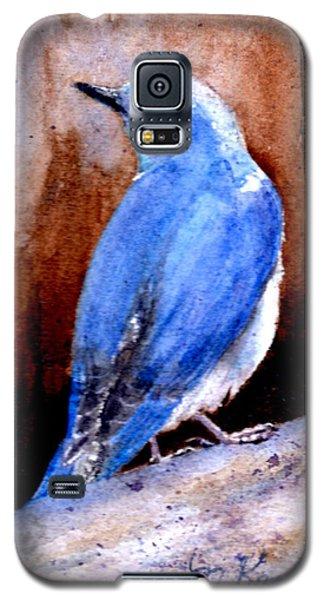 Firehole Bridge Bluebird - Male Galaxy S5 Case