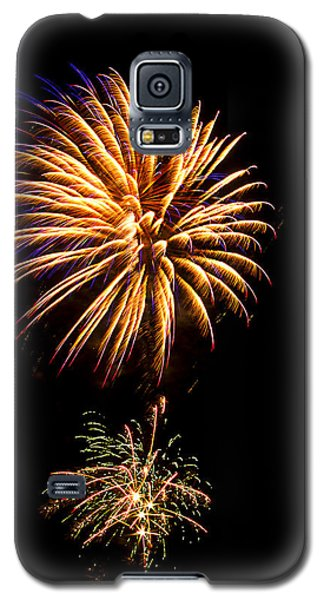 Galaxy S5 Case featuring the photograph Fireworks 4 by Bill Barber