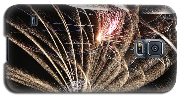 Fireworks Abstract 35 2015 Galaxy S5 Case