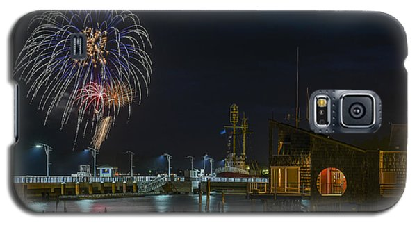 Fireworks And 17th Street Docks Galaxy S5 Case