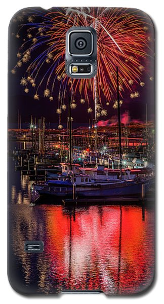 Fireworks At The Docks Galaxy S5 Case